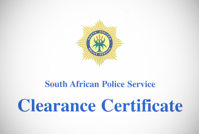 south african police clearance