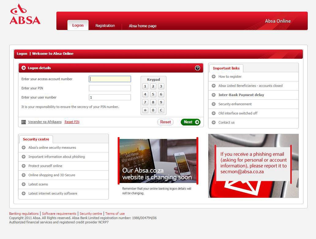 How to Register for Absa Online Banking