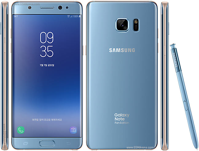 Samsung Galaxy Note FE Spec & Price in South Africa