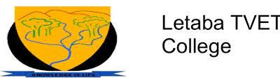 Letaba TVET College School Fees 2021/2022